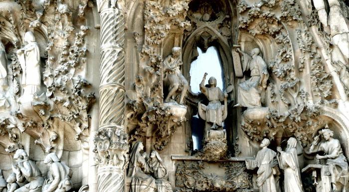 Барселона: храм Святого Семейства