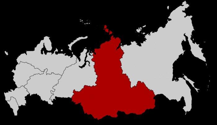 Сибирский федеральный округ: размещение на карте, состав, столица…