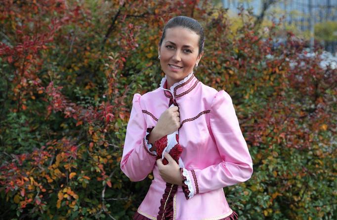 Кристина Смирнова, актриса есенин