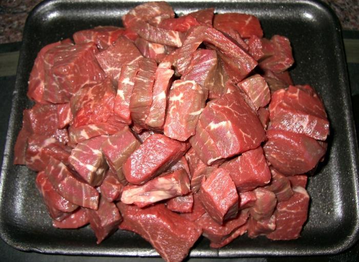 рецепт говядины в подливе в мультиварке