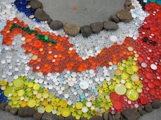 дорожки из пластиковых бутылок
