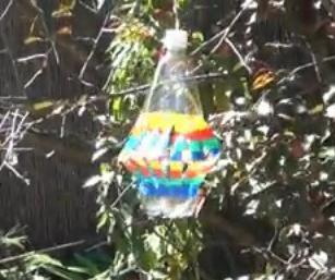 как сделать вертушку из пластиковой бутылки 2