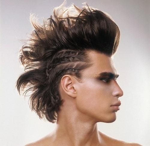 косички для коротких волос