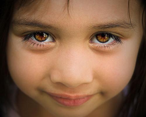 Карие глаза  - это повод доверять