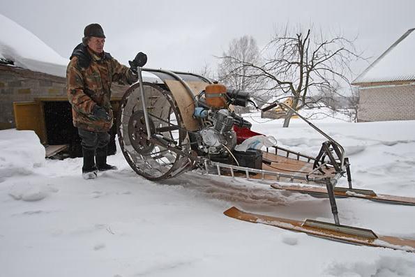 Горная стропа для снегохода своими руками
