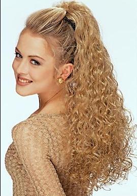 Волнистые волосы и минимум фантазии