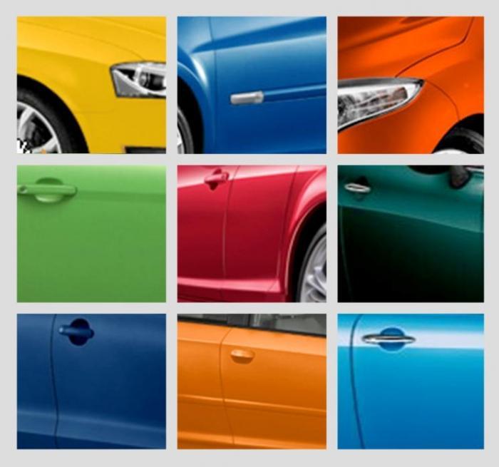 цвет автомобиля