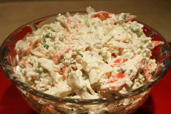 крабовый салат состав рецепт