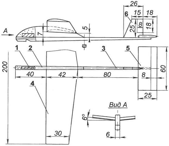 Самолет своими руками из чертеж 130