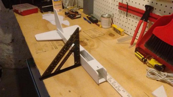модели самолетов из пенопласта