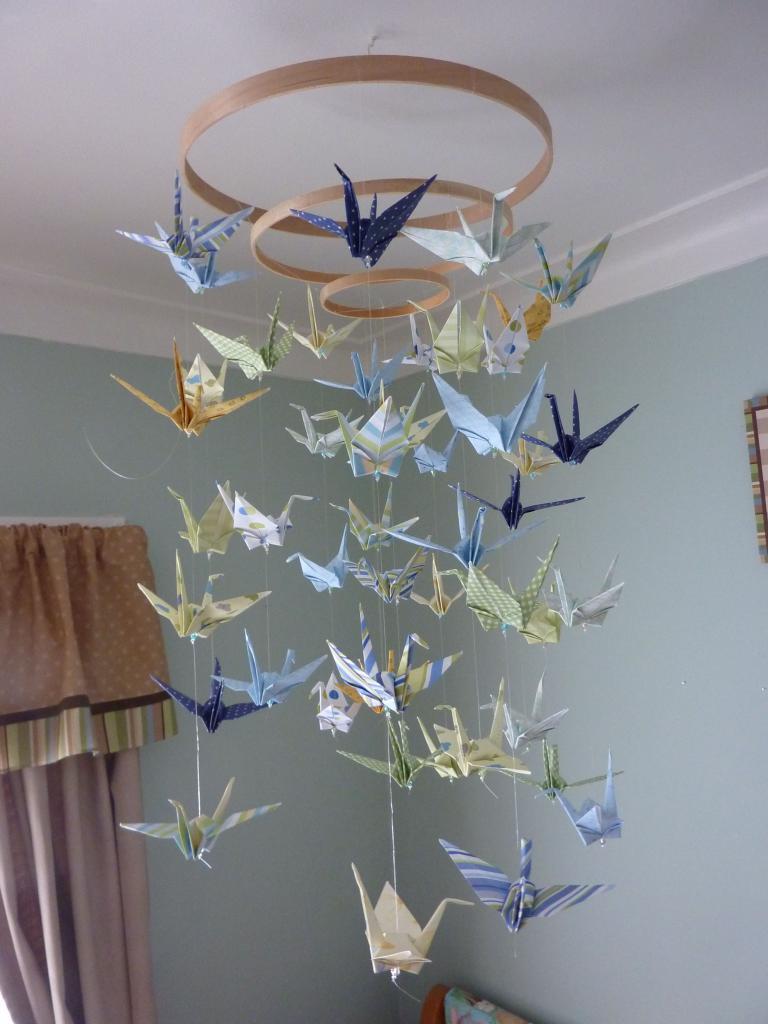 """Оригами """"Журавлик"""" : схема и идеи"""