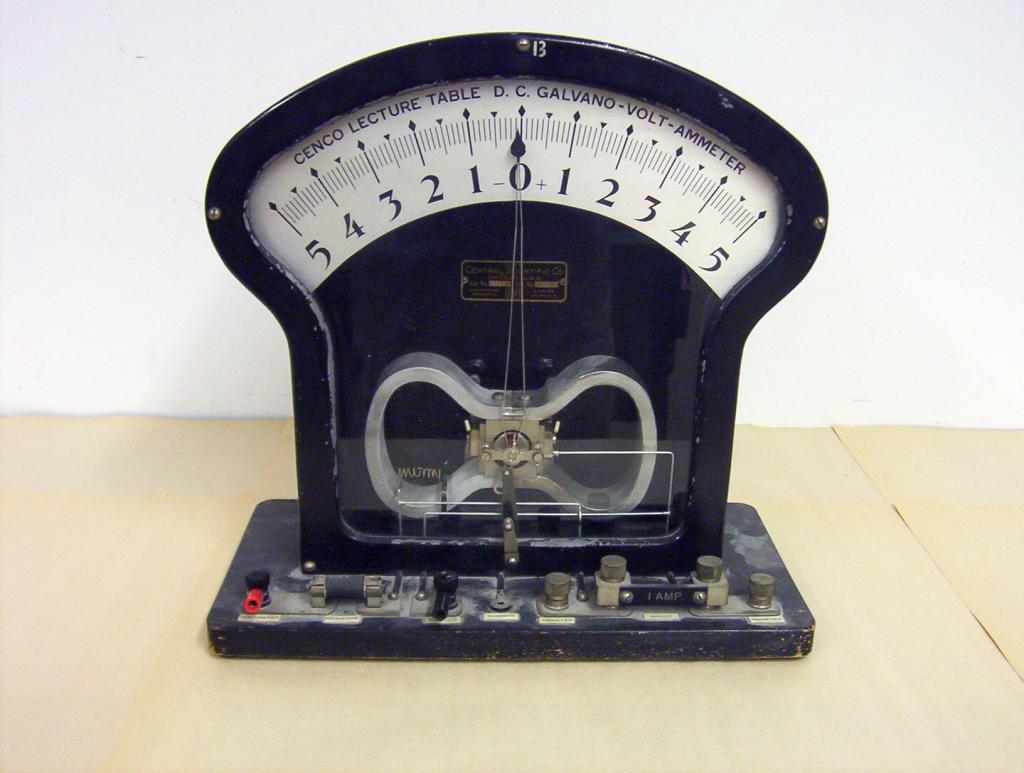Прибор гальванометр