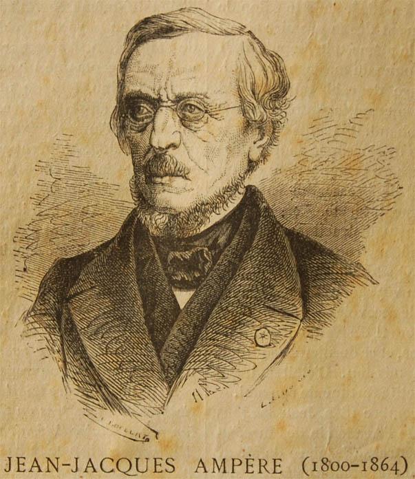 Сын Андре Мари Ампера.