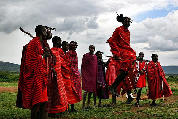 Древние племена африки голые