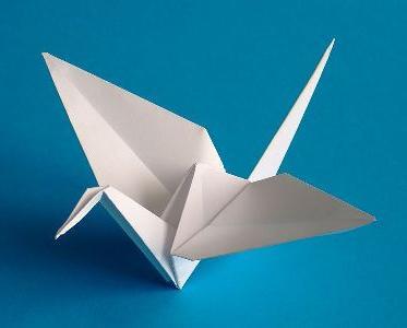 Как сделать птичку оригами фото 702