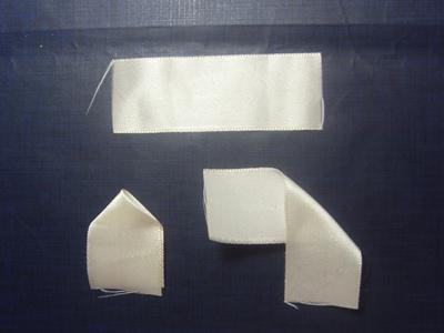 Поделки из атласных лент канзаши