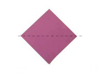 оригами для начинающих цветок