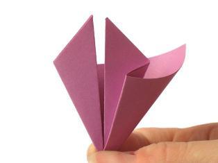 оригами из бумаги цветы схемы