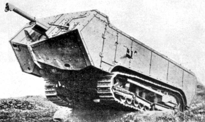 Первые танки первой мировой войны и
