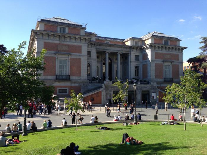 Прадо картины. Музей Прадо в Мадриде. Прадо (музей), Испания. Музей ... 6a8ef3d8b44