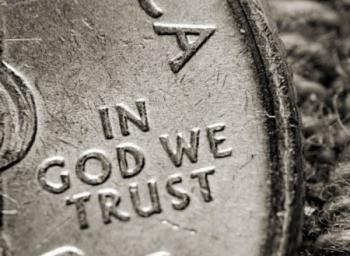 монета in god we trust