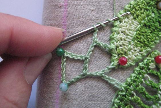 вязание ирландского кружева для начинающих