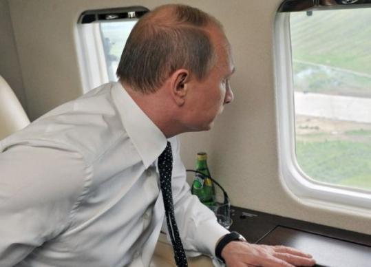 Борт номер 1 Путина: модель, фото. Сопровождение ... Самолет Путина