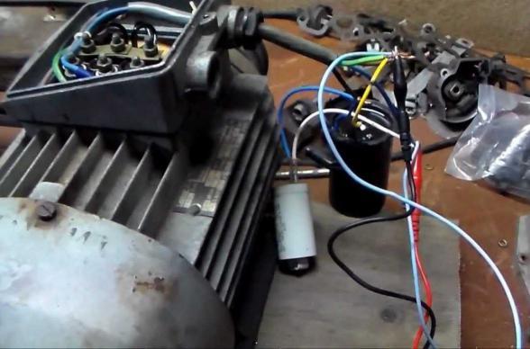 мощность трехфазного двигателя