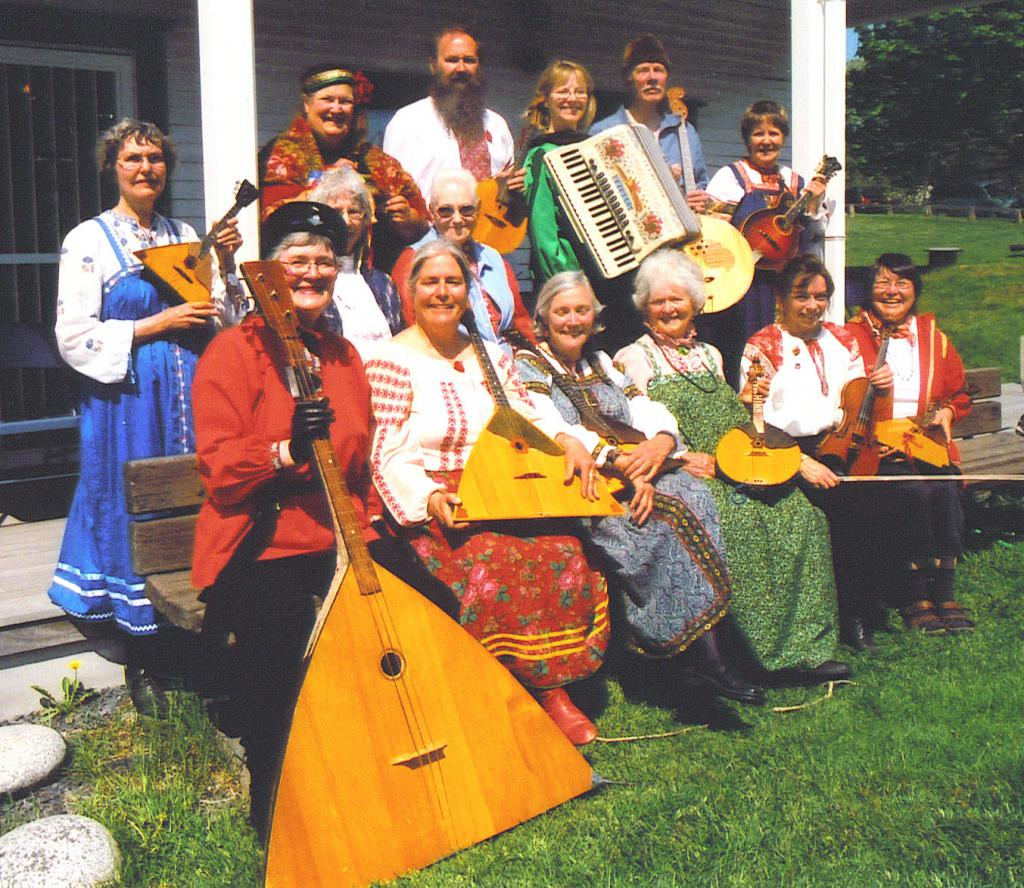 "Russian players-balalaika ""Kodiak"""