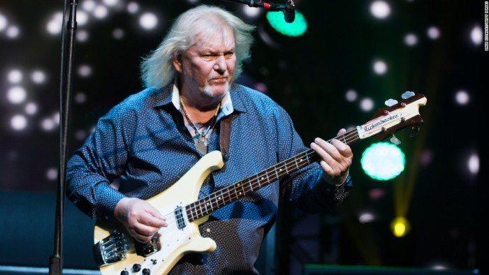 Бессменный басист Yes - Крис Сквайр
