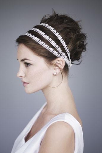 просто наденьте на голову поверх волос греческую повязку, после чего отделите с... Если вы предпочитаете носить...