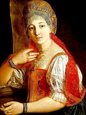 """Схема вышивки  """"Портрет """". borodkina.  Оригинал.  Схемы автора  """"borodkina """".  Для вышивки крестом подходит любая ткань с..."""