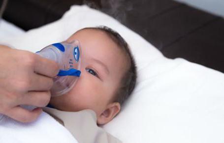 ингаляция с лазолваном и физраствором для детей