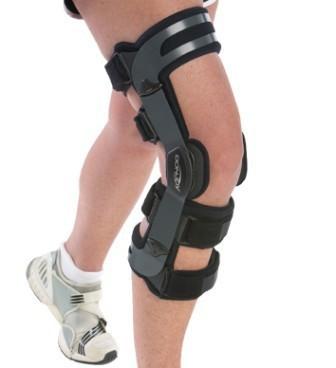 жесткий фиксатор коленного сустава