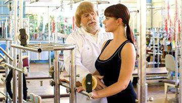 дикуль упражнения для спины при остеохондрозе