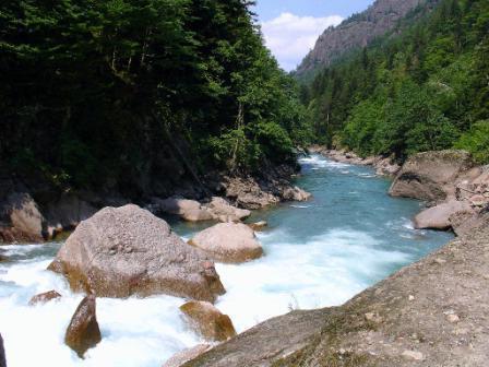 лаба река приток кубани