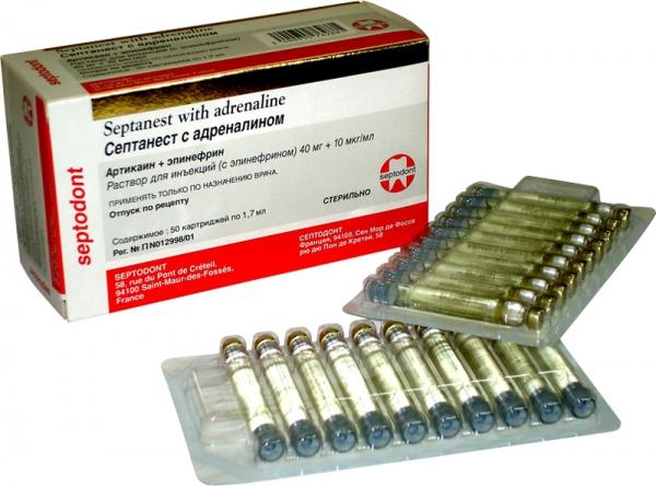препарат септанест