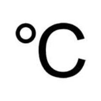 знак градуса цельсия