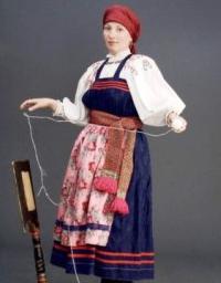 костюмы русского народа