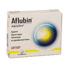 афлубин таблетки инструкция
