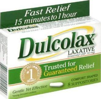 слабительные лекарства для очищения кишечника