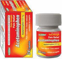 препарат ацетаминофен