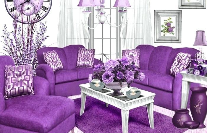 Гостиная в сиреневых тонах: характерные особенности цвета. Оформление стен, выбор мебели, штор и предметов декора