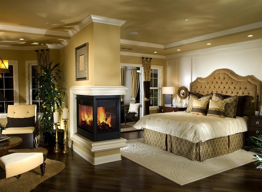 Роскошная спальня: интересные идеи с фото и стили оформления
