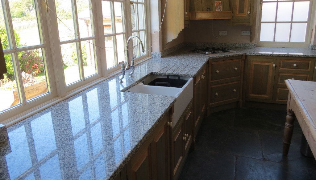 Sill-countertop in the kitchen