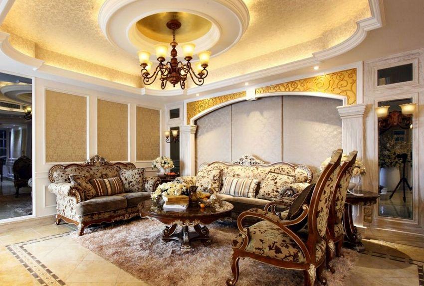 Classic drywall ceiling