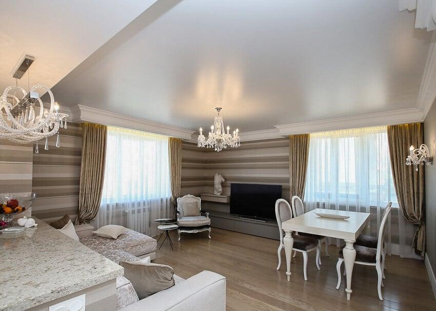 Classic stretch ceiling