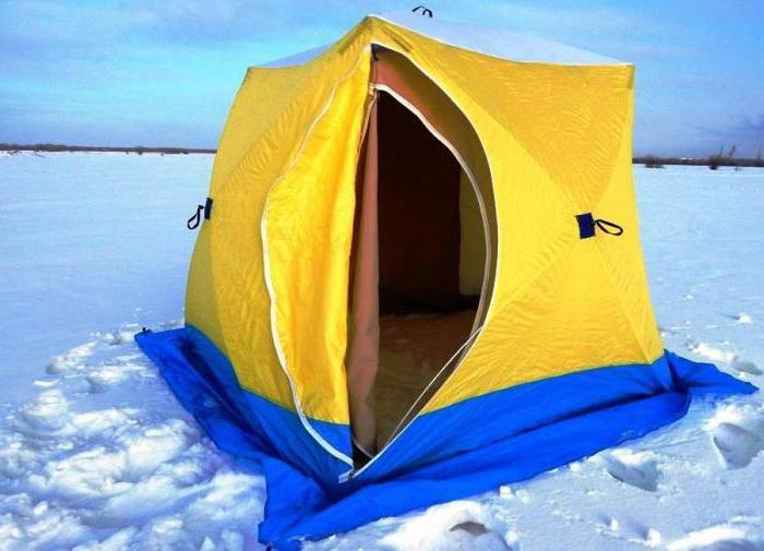 зимняя палатка куб медведь