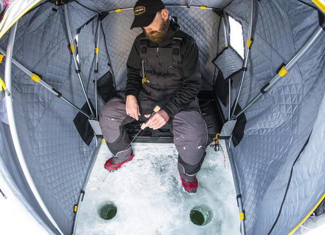 зимние палатки медведь