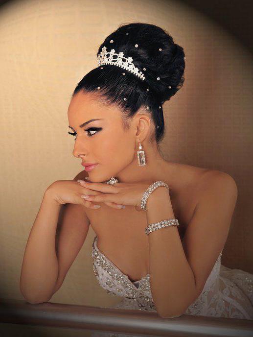 королевские свадебные прически